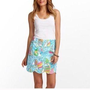 Lilly Pulitzer Lonnie You Gotta Regatta skirt